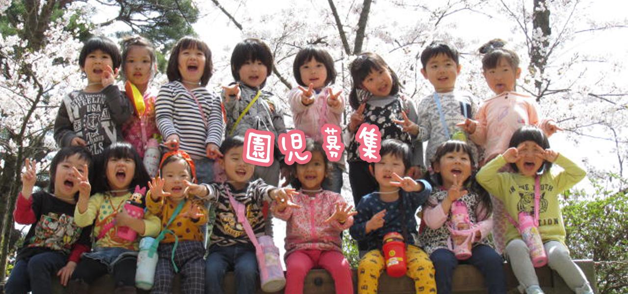 園児募集について 入園についての各種情報はこちらをごらんください
